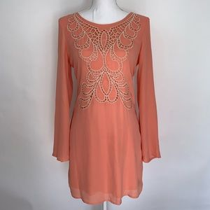 Altar'd State Embroidered Shift Dress Size Small